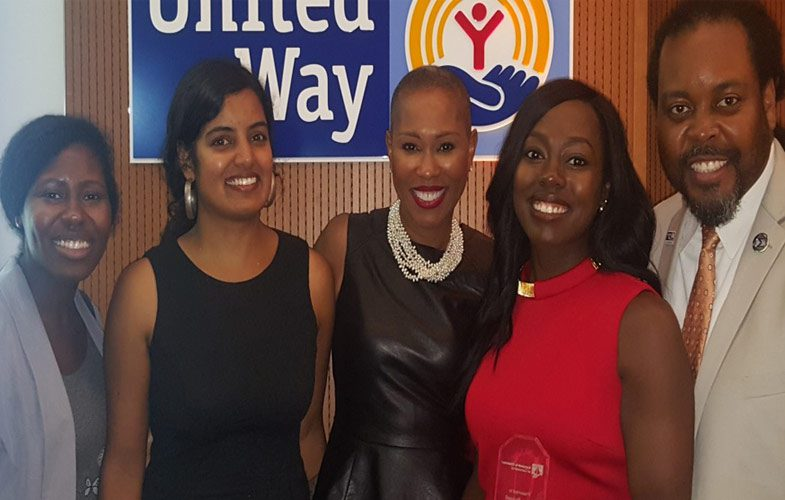 united way employee event