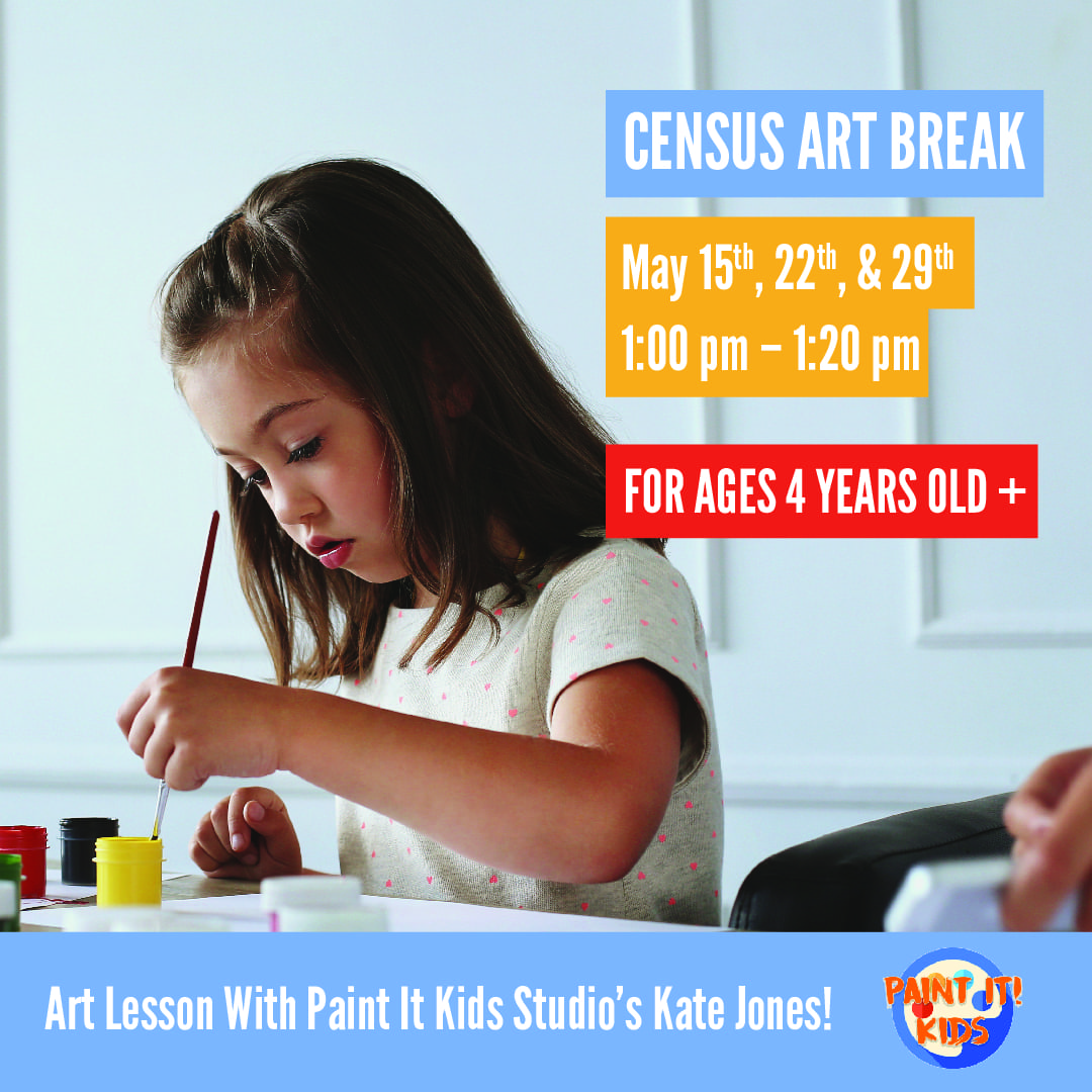United Way of the National Capital Area Partners with Paint It Kids to Bring Census Art Break to Young Students and Families