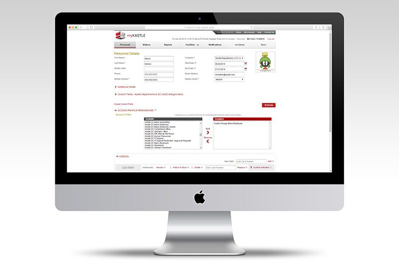 Visitor management software example image